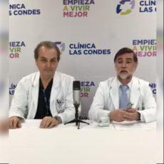 Doctor Llamil Kauak junto al Dr. Godoy aclarando dudas sobre lipotransferencia, lipoaspiración y lipoescultura